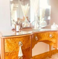 Burr Walnut Dressing Table / Vanity / Sideboard (2 of 6)