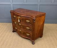 19th Century French Flame Mahogany Commode (9 of 20)