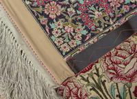 Fine Silk Carpet Rug Roses (6 of 9)