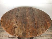 Early 18th Century Yew & Fruitwood Gateleg Table (11 of 12)