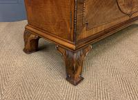 Burr Walnut Bookcase by Jas Shoolbred (15 of 19)