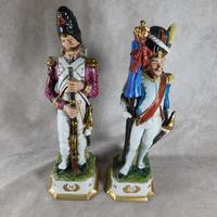 "Two ""Di Pietro Capodimonte"" style Napoleonic War Figures"