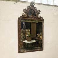 Large 18th Century Italian Rococo Wall Mirror (3 of 12)