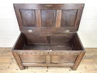 Antique 18th Century Welsh Oak Coffer (6 of 10)