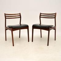 Pair of Danish Rosewood Chairs by P.E. Jørgensen for Farso Stolefabrik (2 of 12)