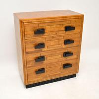 Art Deco Solid Oak Chest of Drawers (2 of 12)