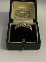Victorian 18ct Five Diamond Ring 1ct (4 of 9)
