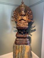 Magnificent Quan Am 'Guanyin' - Antique Carving (5 of 6)