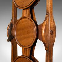Antique Monoplane Folding Cake Stand, Mahogany, Afternoon Tea, Table, Edwardian (10 of 12)