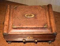 Fine Regency Leather Work Box (13 of 14)