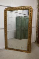 Very Large French 19th Century Louis Philippe Gold Mirror (3 of 12)