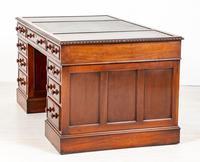 Quality Victorian Mahogany Partners Desk (7 of 9)