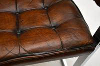 Pair of Vintage Leather & Chrome Armchairs (11 of 15)
