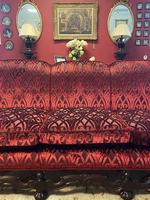 Jacobean Style Carved Mahogany Suite