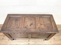 Antique 18th Century Welsh Oak Coffer (8 of 10)