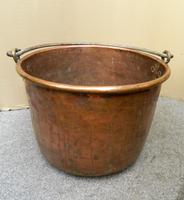 Large Copper Pot / Log Bin (6 of 6)