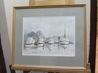 Watercolour The Moorings Listed Artist Diana Scott (3 of 10)