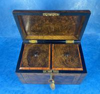 Victorian Tunbridge Ware Twin Section Tea Caddy (15 of 18)
