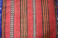 Afghan Red Saddle Bag Cushion Cover (9 of 9)