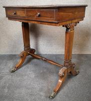Early 19th Century Free Standing Rosewood Table (4 of 11)