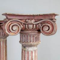 Pair of Tall Painted Victorian Columns Pillars (4 of 11)