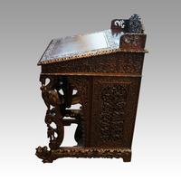 Antique Burmese Davenport (7 of 13)