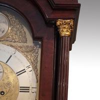 Antique Mahogany Longcase Clock (10100) (5 of 12)