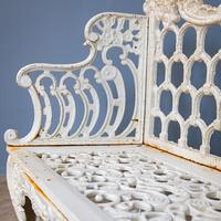 20th century Cast Iron Bench (4 of 7)