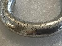 Gentleman's Walking Stick Sword Stick with Silver Handle (14 of 20)