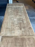 Superb Rustic Large Bleached Oak Farmhouse Table with Extensions (36 of 36)