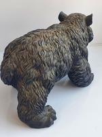 Large Detailed Vintage Bronze Grizzly Bear c1940s (2 of 10)