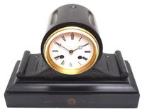 Drum Head Slate Mantel Clock – Gilt Marble 8-day Striking Mantle Clock (2 of 11)