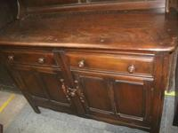 Priory Style 2 Drawer Welsh Dresser (3 of 3)