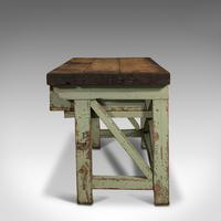 Large Antique Silversmith's Table, English, Pine, Industrial, Bench, Victorian (5 of 12)