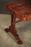 William IV Rosewood Library Table Desk (2 of 17)