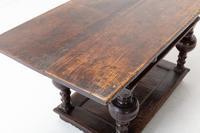 17th Century Flemish Oak Side Table (5 of 7)