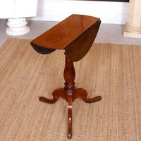 Drop Leaf Tripod Table 19th Century Mahogany (5 of 9)