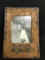 Art Nouveau Celluloid Easel Photo Frame (4 of 5)