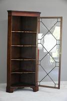 Antique Mahogany Astragal Glazed Cabinet (7 of 12)