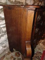 Dutch oak small chest of drawers. 18th century (2 of 9)