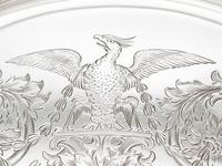 Sterling Silver Tea Tray by Mappin & Webb Ltd - Antique Victorian 1894 (7 of 12)