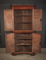 Large 18th Century Oak Corner Cupboard (6 of 8)