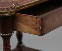 19th Century Mahogany & Inlaid Three Tier Etagere Table (5 of 11)