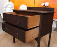 Arts & Crafts Oak Chest of Drawers (8 of 12)