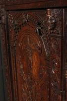 Profusely Carved Oak Cupboard (8 of 15)