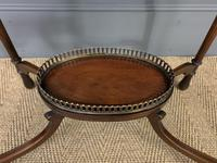 Fine Quality Oval Inlaid Mahogany Occasional Table (2 of 16)