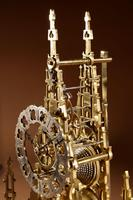 Scottish Interest Historically Interesting Sir Walter Scott Skeleton Clock. (14 of 14)
