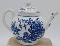 First Period Worcester Fence Pattern Teapot