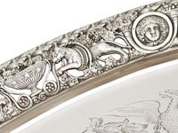 Sterling Silver Tea Tray by Mappin & Webb Ltd - Antique Victorian 1894 (6 of 12)