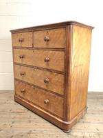 Antique Victorian Mahogany Chest of Drawers (10 of 10)